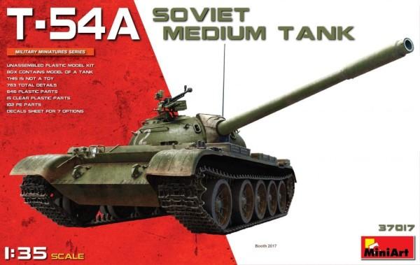 MA37017   T-54A Soviet medium tank (thumb27102)