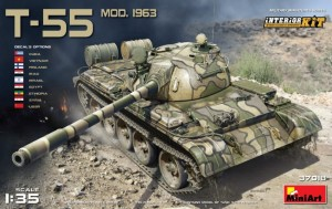 MA37018   T-55 tank, model 1963. Interior kit (thumb27109)