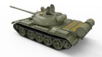 MA37018   T-55 tank, model 1963. Interior kit (attach4 27109)
