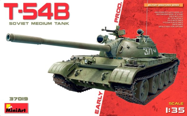 MA37019   T-54B (early prod.) Soviet medium tank (thumb27117)