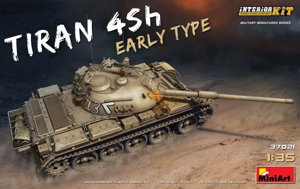 MA37021   Tiran 4 Sh, early type. Interior kit (thumb27124)