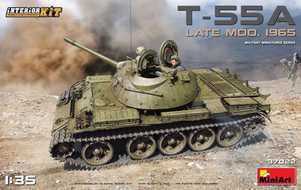 MA37022   T-55A, late model 1965. Interior kit (thumb27130)