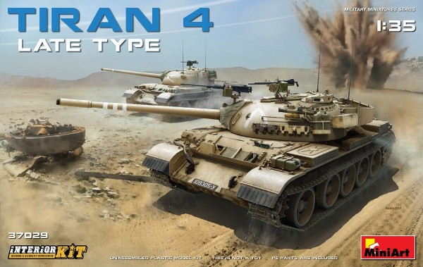 MA37029   Tiran 4 tank, late type. Interior kit (thumb27146)
