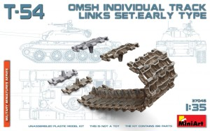 MA37046   T-54 OMSh individual track links set. Early type (thumb27157)