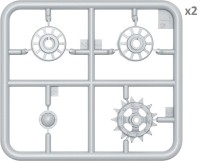 MA37056   T-54/T-55 (early) wheels set (attach1 27173)