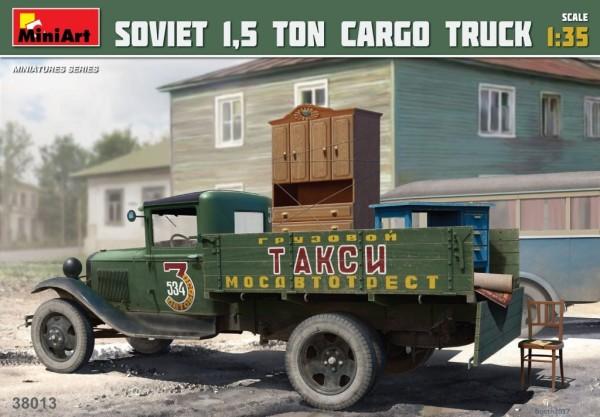 MA38013   Soviet 1,5 ton cargo truck (thumb27196)