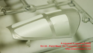 A-squared72002   SU-34 - Paint Mask  for Trumpeter kit (#01652) (attach9 34671)