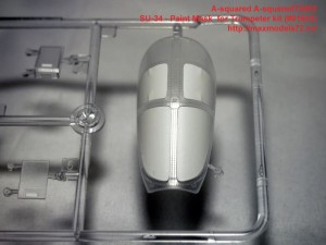 A-squared72002   SU-34 - Paint Mask  for Trumpeter kit (#01652) (attach3 34671)