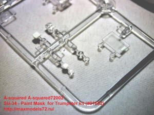 A-squared72002   SU-34 - Paint Mask  for Trumpeter kit (#01652) (attach4 34671)