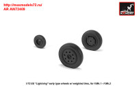 AR AW72409   1/72 EE «Lightning-II» wheels w/ weighted tires, early (attach2 31457)