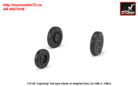 AR AW72410   1/72 EE «Lightning-II» wheels w/ weighted tires, late (attach1 31462)
