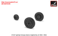 AR AW72410   1/72 EE «Lightning-II» wheels w/ weighted tires, late (attach2 31462)