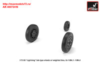 AR AW72410   1/72 EE «Lightning-II» wheels w/ weighted tires, late (attach3 31462)