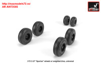 AR AW72505   1/72 C-27 «Spartan» wheels w/ weighted tires (attach1 31432)