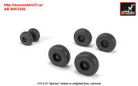 AR AW72505   1/72 C-27 «Spartan» wheels w/ weighted tires (attach2 31432)