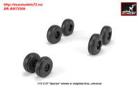 AR AW72505   1/72 C-27 «Spartan» wheels w/ weighted tires (attach3 31432)