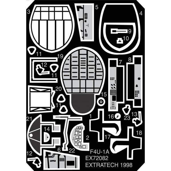 EX72082 VOUGHT F4U-1 INTERIOR (ACADEMY) (thumb28207)