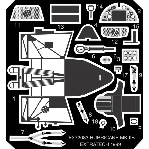 EX72083 HAWKER HURRICANE MK.2B (REVELL) (thumb28209)