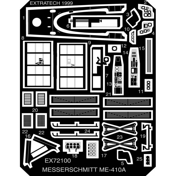 EX72100 MESSERSCHMITT ME-410 (ITALERI) (thumb28226)