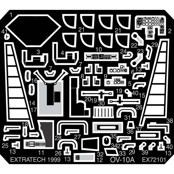 EX72101 ROCKWELL OV-10A (ACADEMY) (thumb28228)