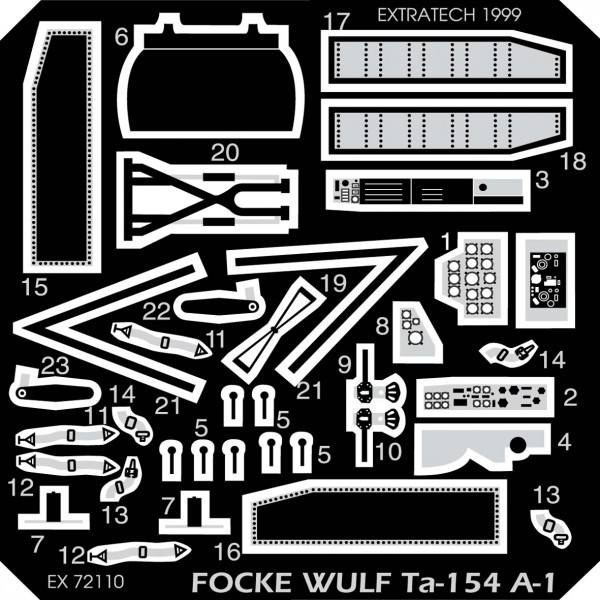 EX72110 FOCKE WULF TA-154A-1 (HASEGAWA) (thumb28241)