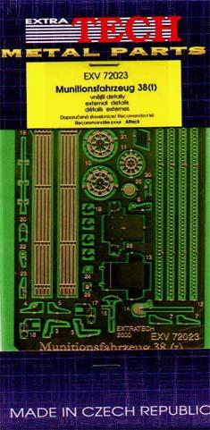 EXV72023 MUNITIONSFAHRZEUG 38(T) (ATTACK) (thumb28326)