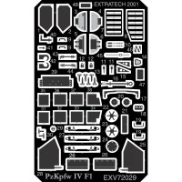 EXV72029 ETCHINGS FOR HASEGAWA PZ.IV F1 (attach1 28341)