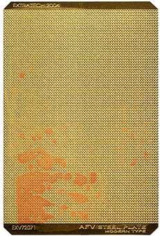 EXV72071 AFV STEEL PLATE - MODERN TYPE (thumb28367)
