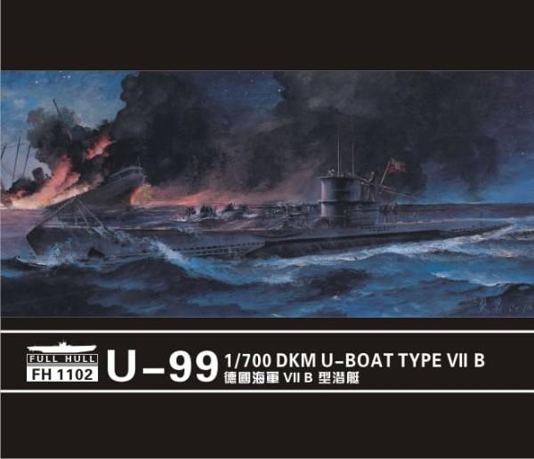 FH1102   U-boat Type VII B  DKM U-99 (2set) (thumb31081)