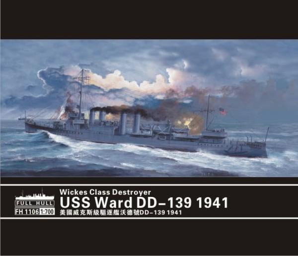 FH1106   Wickes Class Destroyer USS Ward DD-139 1941 (thumb31096)
