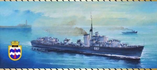 FH1115   Light Cruiser HMS Lance 1941 (thumb31127)