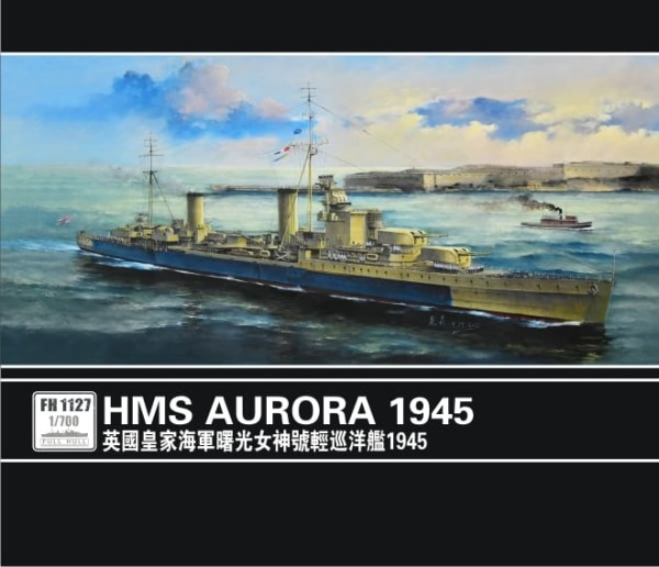 FH1127   Light Cruiser HMS Aurora 1945 (thumb31162)