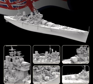 FH1153S   HMS Prince of Wales 1941.5(Deluxe Edition) (attach1 31150)