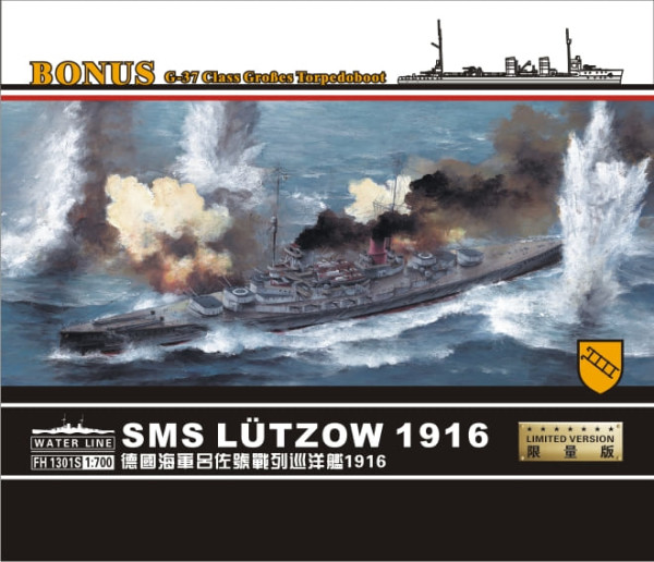 FH1301S   SMS l?tzow 1916 Limited version(Contains G-37 Gro?es Torpedoboot? (thumb31186)