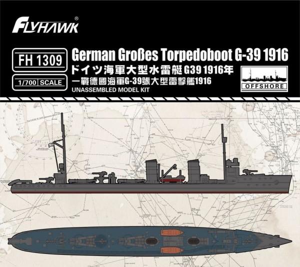 FH1309   German Gro?es Torpedoboot G-39 1916 (thumb31195)