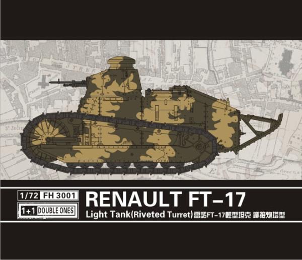 FH3001   Renualt FT-17 Light Tank(Riveted turret) (thumb31031)