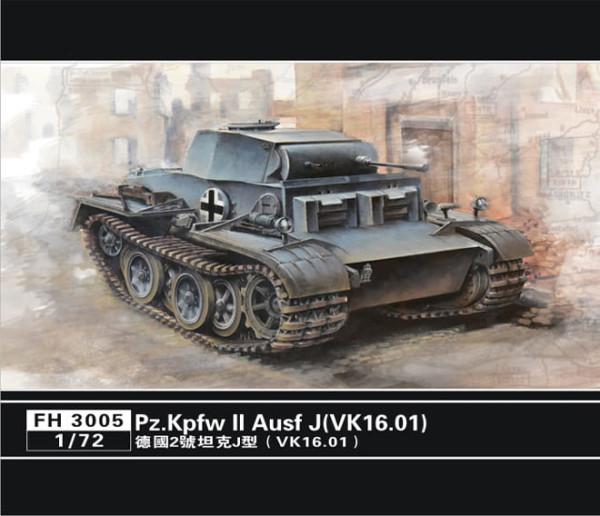 FH3005   German Pz.Kpfw II Ausf J(VK.16.01) (thumb31044)