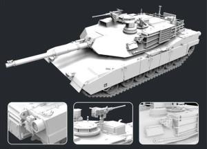 FH3300   M1A2SEP Main Battle Tank (attach1 31066)
