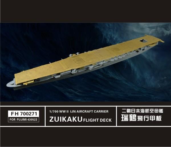 FH700271    WW II  IJN Aircraft Carrier ZUIKAKU Flight Deck(For FUJIMI 43052) (thumb31802)