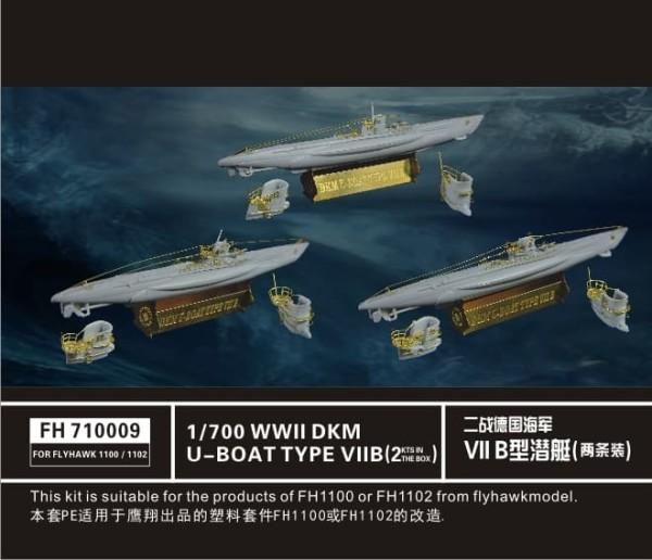 FH710009   German U-Boat Type VII B (for Flyhawk FH1100 & FH1102) (thumb31848)