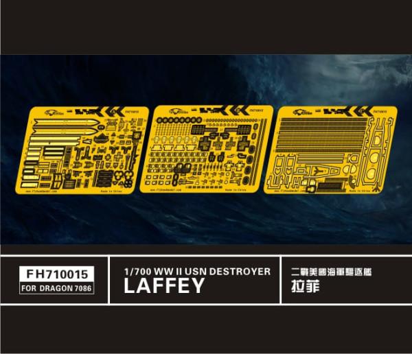 FH710015   WW II  USN DESTROYER LAFFEY (FOR DRAGON7086) (thumb31854)