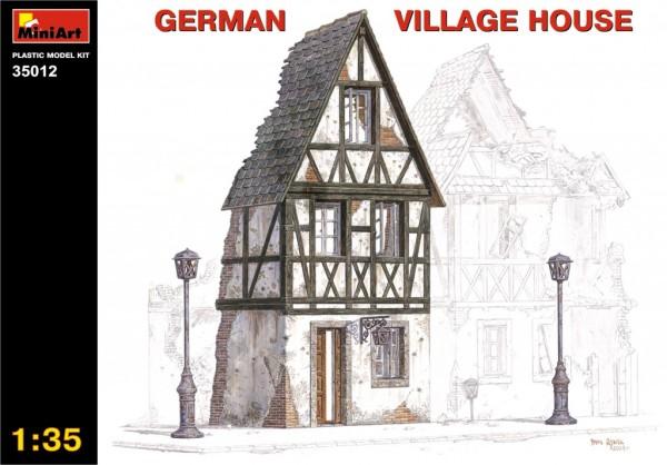MA35012   Немецкий деревенский дом (thumb27257)
