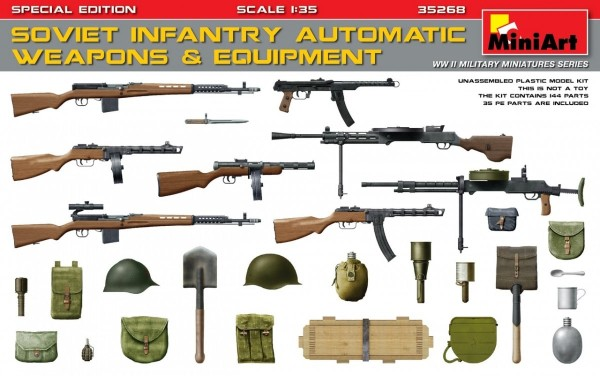 MA35268   Soviet infantry automatic weapons & equipment. Special edition (thumb26957)