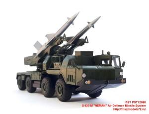 "PST72090   S-125 M ""NEMAN"" Air Defense Missile System (attach6 31220)"