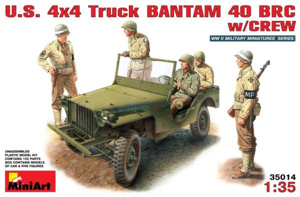 MA35014   U.S. truck  BANTAM BRC40 with crew (thumb26011)
