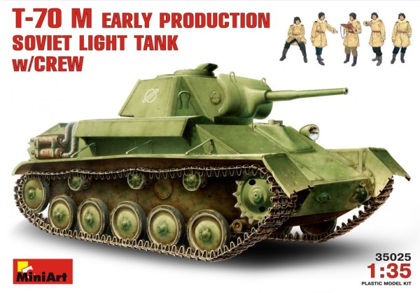 MA35025   T-70M Soviet light tank (early) with crew (thumb26015)