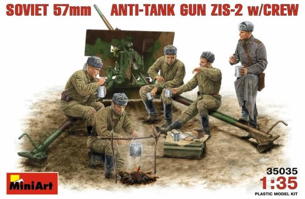 MA35035   ZIS-2 Soviet 57mm anti-tank gun with crew (thumb26033)