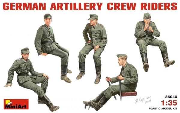 MA35040   German artillery crew riders (thumb26048)