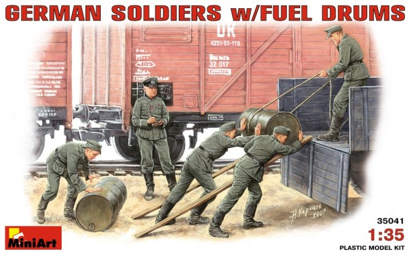 MA35041   German soldiers with fuel drums (thumb26050)