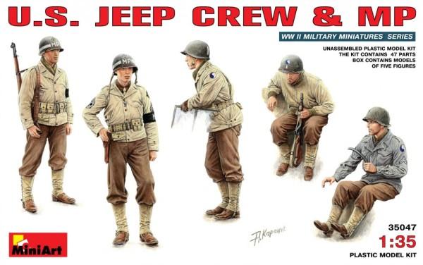 MA35047   U.S. Jeep crew & MP (thumb26064)